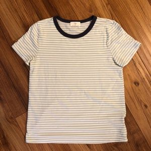 Brand New!! Striped tee from Anthro